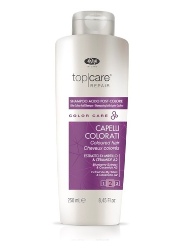 Стабилизатор цвета Top Care Repair Color Care After Color Acid Shampoo 250 мл
