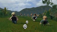 NS: LEGO Jurassic World (русские субтитры)