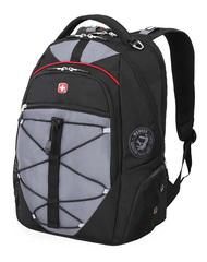 Рюкзак WENGER, цвет чёрный/серый, полиэстер 900D/М2 добби, 34x19x46 см, 30 л