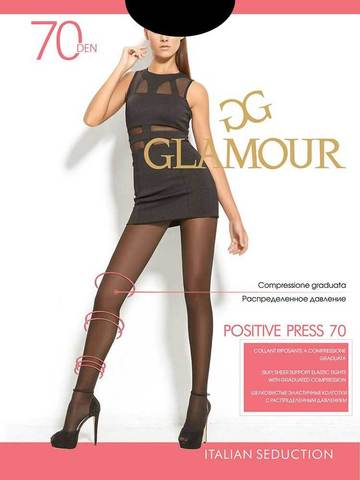 Колготки Positive Press 70 Glamour