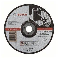 Зачистной круг 180х6х22,23 мм по нержавеющей стали Bosch Expert for Inox