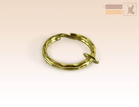 Кольцо для брелока (золото)
