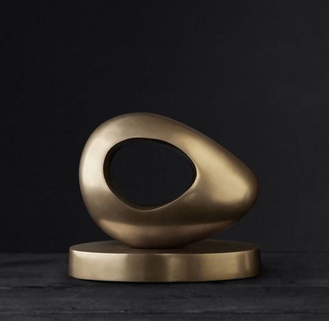 Abstract Solid Brass Скульптуры 2