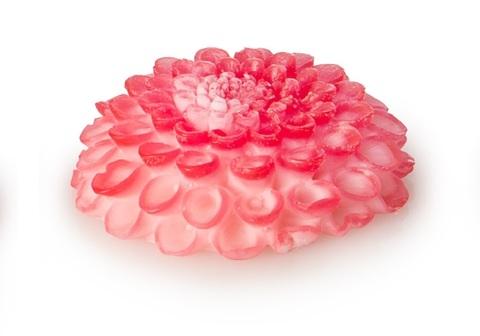 Мыльное ассорти/цветок3D: ГЕОРГИН, 90 гр/шт