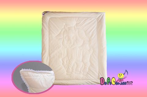 """Одеяло детское 110х140  """"Козочка"""" в сатине всесезонное."""