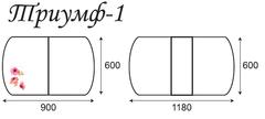 Стол Триумф-1 Т1 М