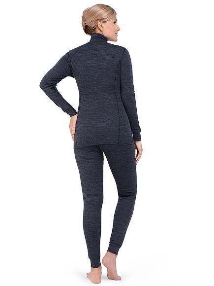 Теплое термобелье для женщин Norveg Winter теплый с шерстью мериносов