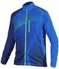 Мужская спортивнаяя куртка для бега Noname Pro Tailwind A006091 темно-синяя