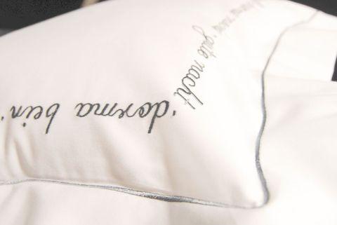Наволочка 40х40 Christian Fischbacher Luxury Nights Sweet Dreams 557 серебро