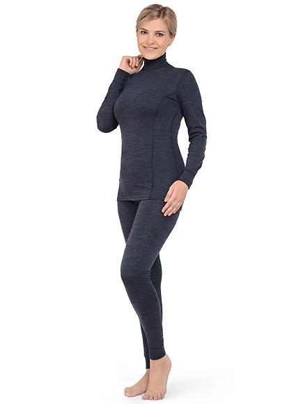 Комплект термобелья женский Norveg Winter с шерстью мериносов фото