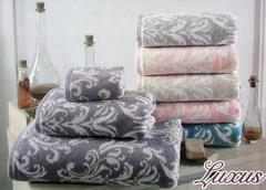 Набор полотенец  3 предмета LUXUS - ЛЮКСУС / Maison Dor (Турция)