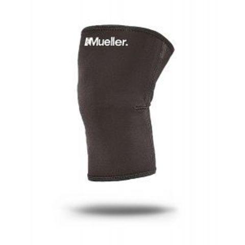 424  SM Knee Sleeve,Неопренновый фиксатор колена закрытая коленная чашечка Черный SM