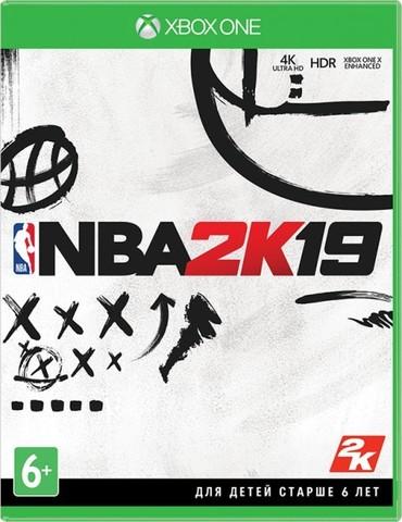 Microsoft Xbox One NBA 2K19 (английская версия)