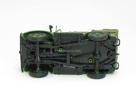 GAZ-69A open top 1:43 Nash Avtoprom