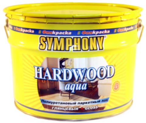 SYMPHONY HARD WOOD Aqua – покрывной полиуретановый паркетный лак