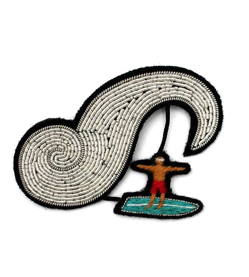 Брошь Surfer от Macon&Lesquoy
