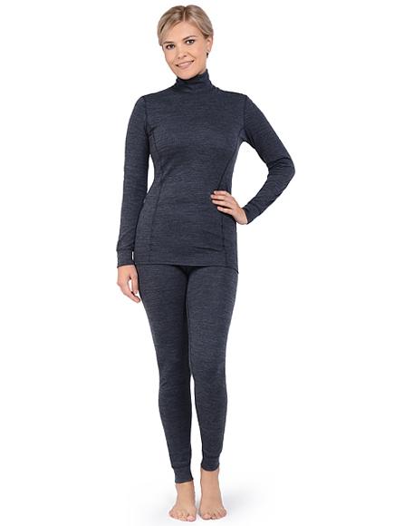 Комплект термобелья женский Norveg Winter с шерстью мериносов