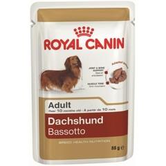 Royal Canin Dachshund Adult влажный корм паштет для взрослых собак породы такса от 10 месяцев