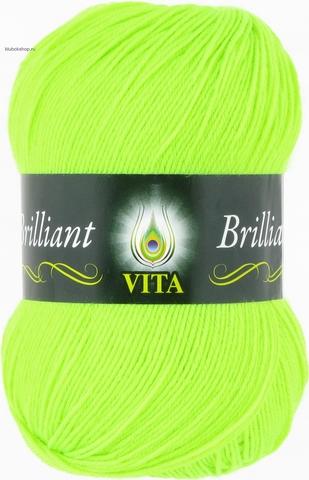 Пряжа Brilliant Vita 5103 ультра-салатовый (упаковка 5 мотков) - купить в интернет-магазине от 1 упаковк