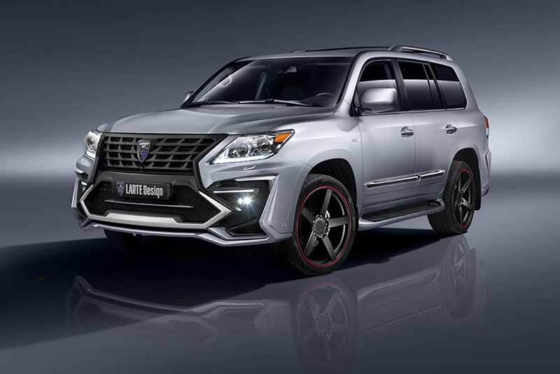 Обвес Larte Design Alligator для Lexus LX