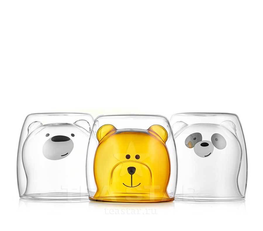 "Каталог товаров магазина TeaStar Стаканы с двойными стенками ""Мишки"", набор из 3 штук, 250 мл stakani_mishki_s_dvoynoy_stenkoy.jpg"
