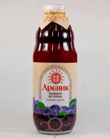 Компот Аревик из терна, 1л
