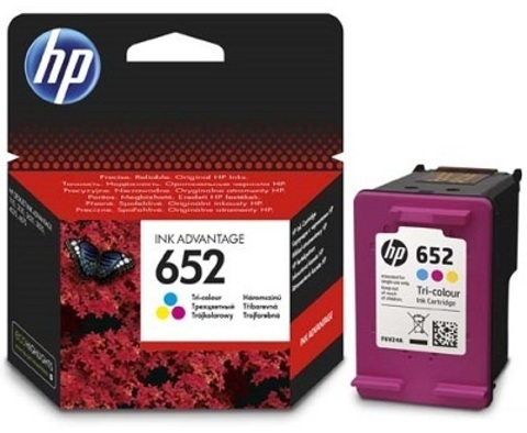 Картридж Hewlett-Packard (HP) F6V24AE №652