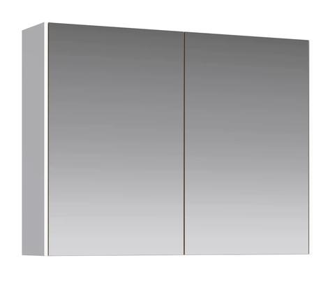Зеркальный шкаф Mobi 80 белый