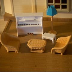 Набор игрушечной мебели для гостиной Happy family 012-09B
