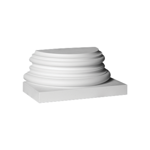 База (полуколонна) Европласт из полиуретана 4.47.301, интернет магазин Волео