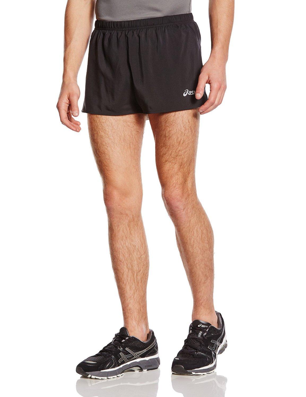 Мужские спортивные шорты Asics Split Short (110412 0904) черные фото