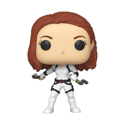 Фигурка Funko POP! Bobble: Marvel: Black Widow: Black Widow (White Suit) 46681