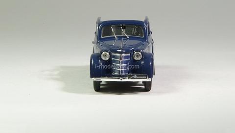 Moskvich-400-420A dark blue 1:43 DeAgostini Auto Legends USSR #5