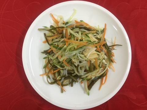 салат со спаржой