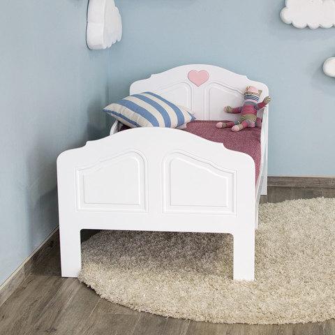 Кровать подростковая Феалта-baby Мотив, белый