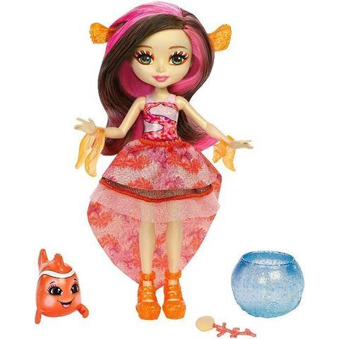 Кукла Энчантималс Кларита Рыбка-клоун с питомцами - Enchantimals, Mattel