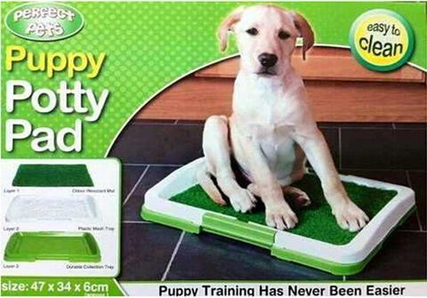 Туалет Puppy Potty Pad – лоток-травка для щенков и мелких домашних животных