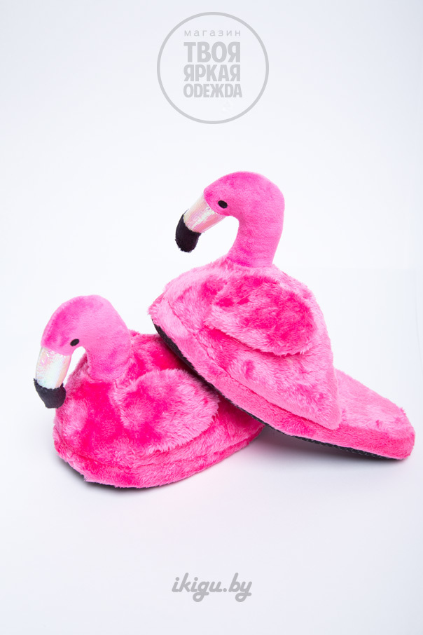 Тапочки Тапочки Фламинго Розовые фламинго-3.jpg