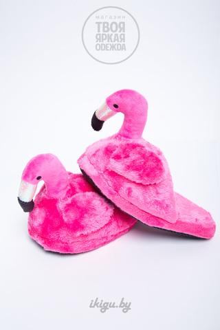 Тапочки Фламинго Розовые