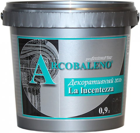 LA LUCENTEZZA Декоративный гель 0.9 л.