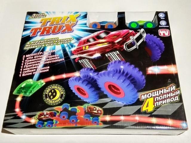 Игрушки для детей Конструктор Машинки Монстр Trix Trux, 2 маш. trux.jpg