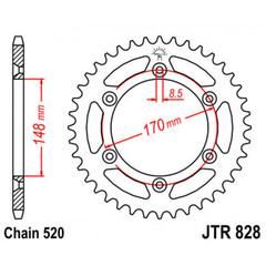 Звезда задняя  JTR828.48  (ведомая)  под 520