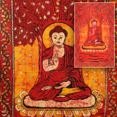 Покрывало Будда под деревом