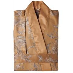 Элитный халат-кимоно сатиновый Natur оранжевый от Curt Bauer