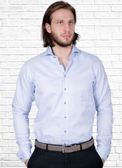 Рубашка Slim fit Ledub 0135707_120-140-000