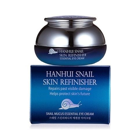 Крем для глаз антивозрастной с муцином улитки Bergamo Hanhui Snail Skin Refinisher Essential Eye Cream 30мл