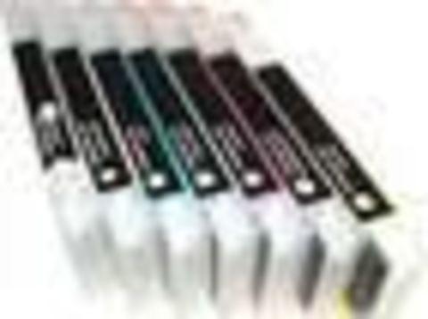 Картриджи дозаправляемые Epson Pro 4800 8 шт х 220 мл с чипами.