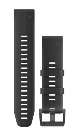 Силиконовый ремешок Garmin QuickFit 22 мм черный
