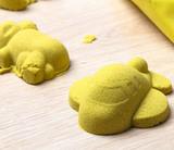 Космический песок 2 кг, желтый 3
