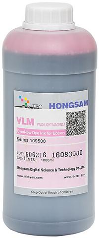 Чернила водные DCTec 7900D light vivid magenta dye 1 л. Серия 109500